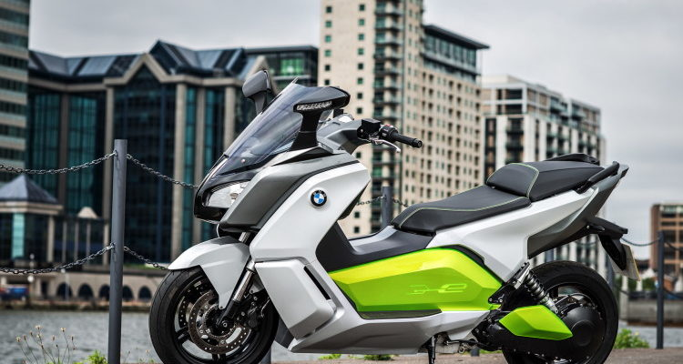 BMW C evolutions maxi-scooter